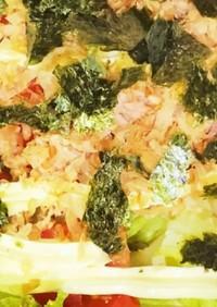 【サラダうどん】糸こんにゃくでダイエット