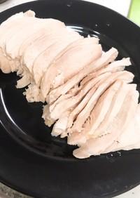 電気圧力鍋0分 ホロホロ鶏胸肉の鶏ハム