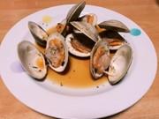 ホンビノス貝の酒蒸し(アサリ等にも!)の写真