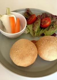 グルテンフリー米粉成形丸パン