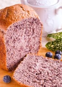 ブルーベリーのふんわりみるく食パン