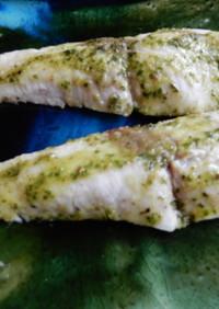 簡単 白身魚のレモンバジルソテー