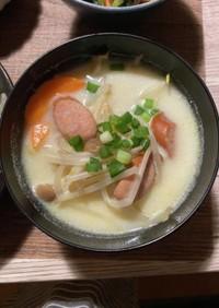 とんこつ風豚もやしスープ