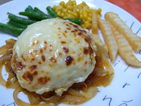 タルタルとチーズ☆ハンバーグ