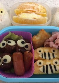 トトロ弁当 幼稚園のキャラ弁