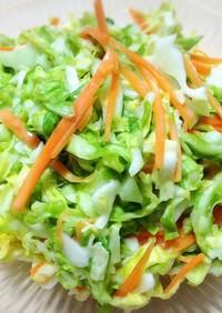 簡単おかず:キャベツ人参のさっぱりサラダ