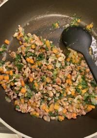 【離乳食完了期】豚肉と野菜のあんかけ