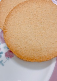 糖質制限クッキー おからパウダーver.