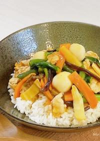 業スー 中華野菜ミックスde簡単♡中華丼