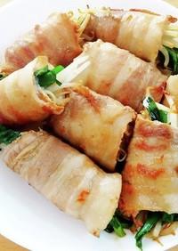 豚バラの野菜巻き焼き