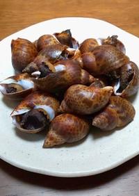 圧力鍋でやわらか!ばい貝の料亭風・煮つけ