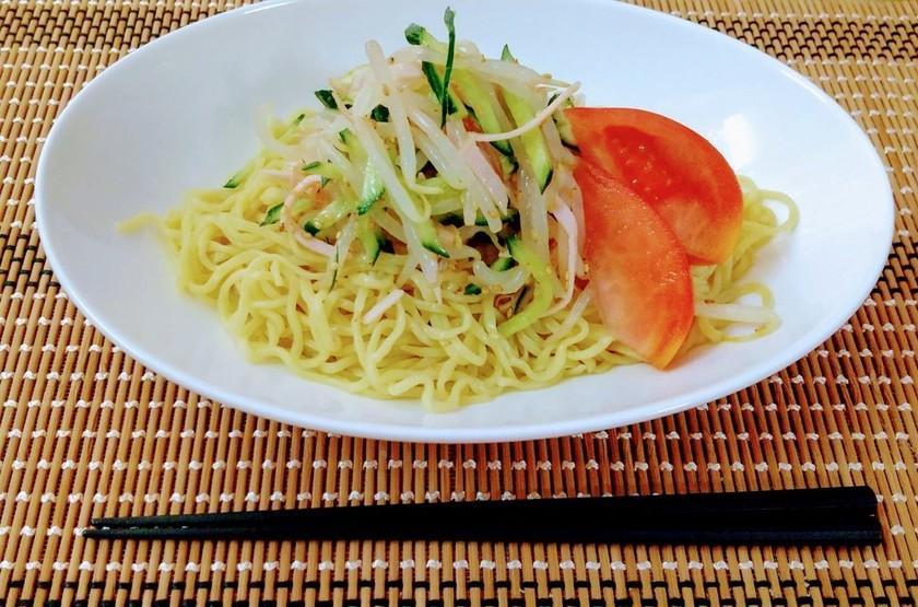 野菜たっぷり♡ナムルのっけ冷やし中華
