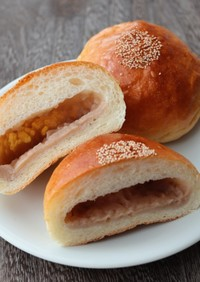 国産和栗の白あんパン