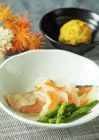 鮭のマリネ【入院食㉑昼/主菜】