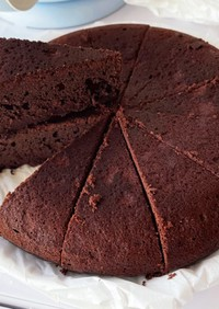 混ぜるだけ!炊飯器で簡単チョコケーキ