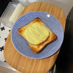 キャロットラペハムチーズトースト