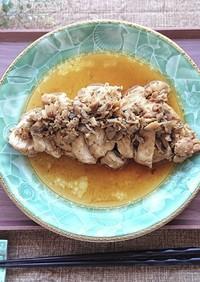 舞茸で鶏むね肉が極やわらかチャーシュー
