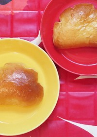 ノンミキサー クリームパン
