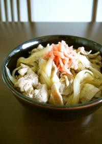 【レシピ動画】牛丼を豚肉で作った豚丼♪