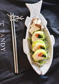 レンジ料理~ササミチーズ巻き