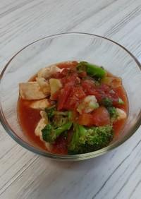 レンチン8分 チキンのトマト煮