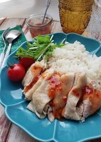 炊飯器de簡単♪カオマンガイ