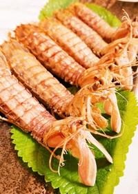 茹でシャコ 蝦蛄 きれいな茹で方 剥き方