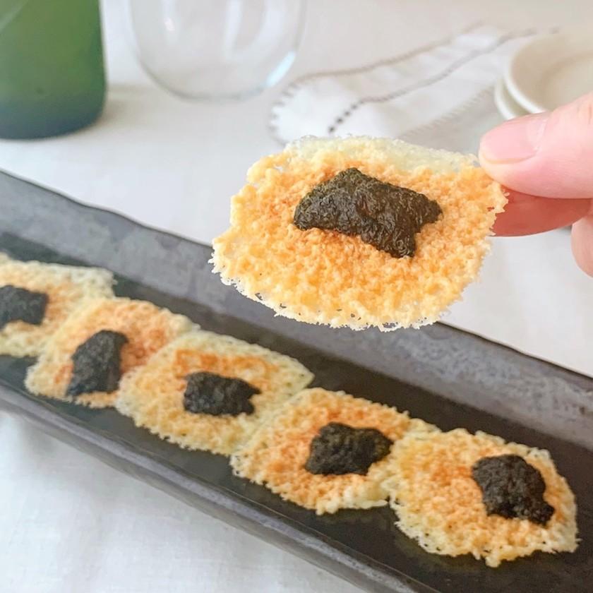 【家つま】海苔チーズせんべい