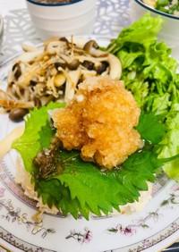 簡単20分◎豆腐と鶏のふわふわハンバーグ