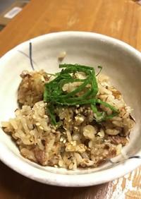 超簡単!秋刀魚缶詰炊き込みご飯★
