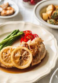 60℃ 下味冷凍→低温調理 鶏むねソテー