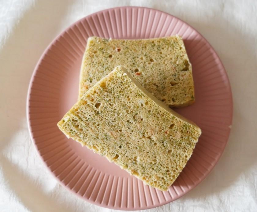 タッパー1つで!お好み焼き味米粉パン