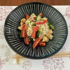 冷たい素麺