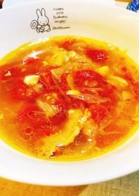 【トマト消費】鷄手羽元とトマトのスープ