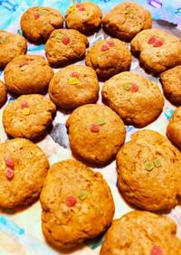 カボチャ入りココアクッキー