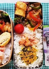 豚肉パプリカ炒め弁当(7,23)
