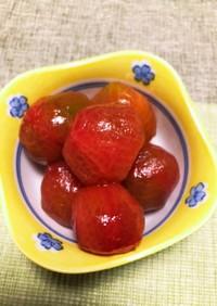 トマトの砂糖漬け