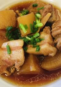 角煮 [電気圧力鍋]簡単豚バラ大根