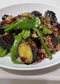 夏野菜と挽肉のエスニック炒め