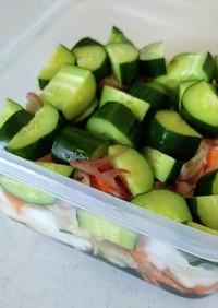 かんたん酢の夏野菜ピクルス