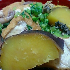 さつま芋と生揚げ(厚揚げ)の煮物
