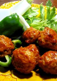 つくねと苦味の生野菜 「孤独のグルメ」