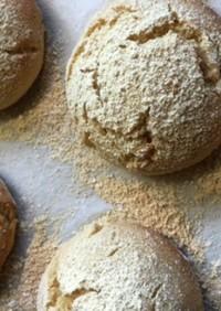 米粉と大豆粉のパン(黒糖編)