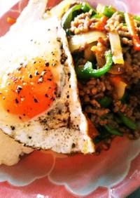 簡単 ガパオライス タイ料理