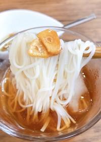 マンネリ打開!ガーリックオリーブ素麺