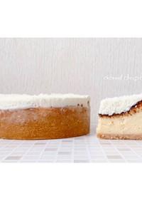FPで作るココナッツ三昧チーズケーキ