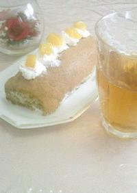 紅茶ロールケーキのレシピ