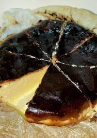 超絶簡単バスクチーズケーキ