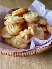 絞り出しクッキー(全卵)の写真
