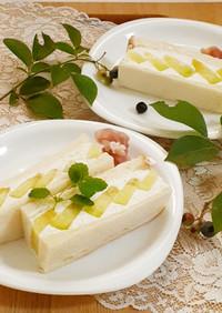 【野菜ソムリエ】京たんごメロンサンド